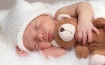 宝宝与玩具熊图片壁纸
