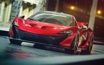 超帅红色跑车图片壁纸