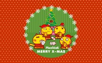哈咪猫圣诞节iPad壁纸