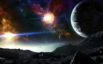 科幻风格星球图片壁纸