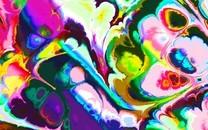 简约设计混乱彩色背景图片壁纸