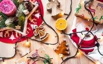 一堆圣诞礼物图片高清图片壁纸