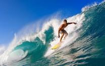 冲浪极限运动桌面壁纸