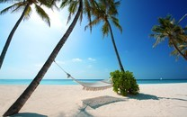 轻松的海边假期壁纸图片大全