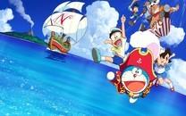 《哆啦A梦大雄的金银岛》桌面壁纸