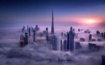 迪拜城市景色壁纸