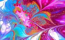 绚丽多彩的彩色背景图片壁纸