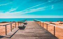 唯美迷人的海边风光图片壁纸