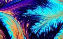 彩色颜料艺术背景图片壁纸3