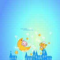 蘑菇点点MOGOO童话iPad壁纸