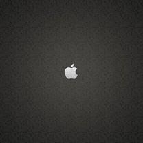 苹果创意LOGO平板壁纸