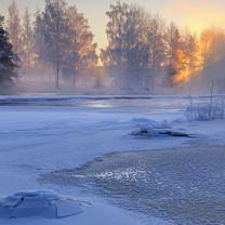 冬季雪景图片壁纸