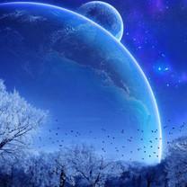 外太空精美行星设计iPad壁纸