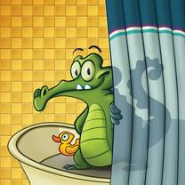 《鳄鱼小顽皮爱洗澡》游戏壁纸