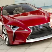 雷克萨斯LF-LC Sports Coupe Concept 2012款跑车壁纸