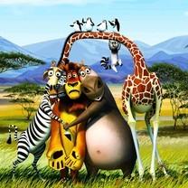 《马达加斯加3》高清电影桌面壁纸