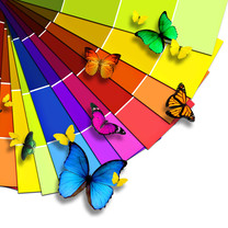 五颜六色炫彩桌面壁纸
