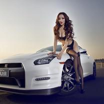 日产GTR改装跑车主题壁纸