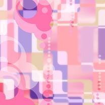 缤纷粉色系iPad壁纸