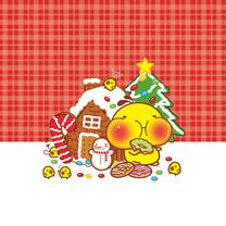 油爆叽丁圣诞风格iPad壁纸