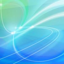 缤纷蓝色系iPad壁纸