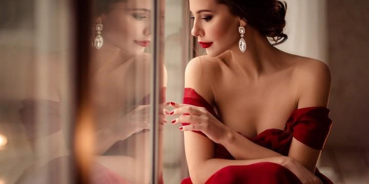 性感外国美女模特桌面壁纸