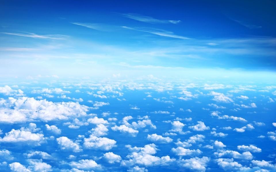 蓝天白云高清壁纸-ZOL桌面壁纸