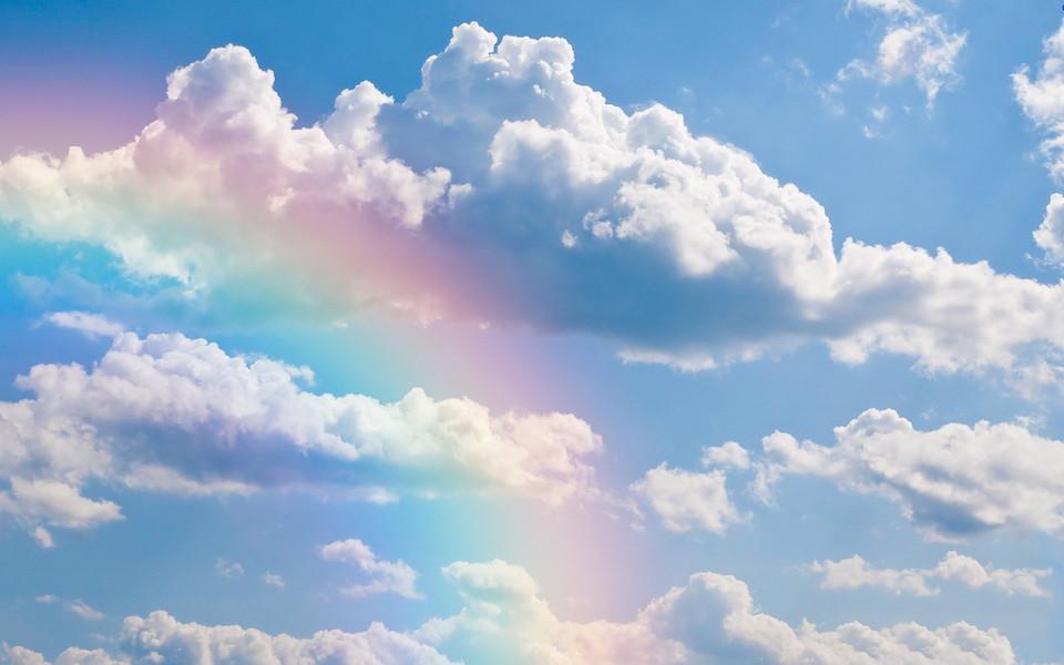 高清桌面壁纸_夏天的彩虹高清桌面壁纸-ZOL桌面壁纸